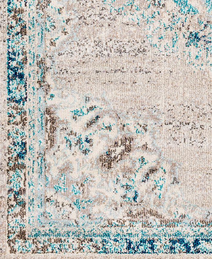 "Abbie & Allie Rugs - Morocco MRC-2321 Light Gray 18"" Square Swatch"