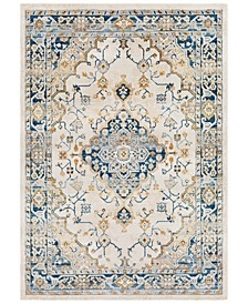 Notting Hill NHL-2311 Teal 2' x 3' Area Rug