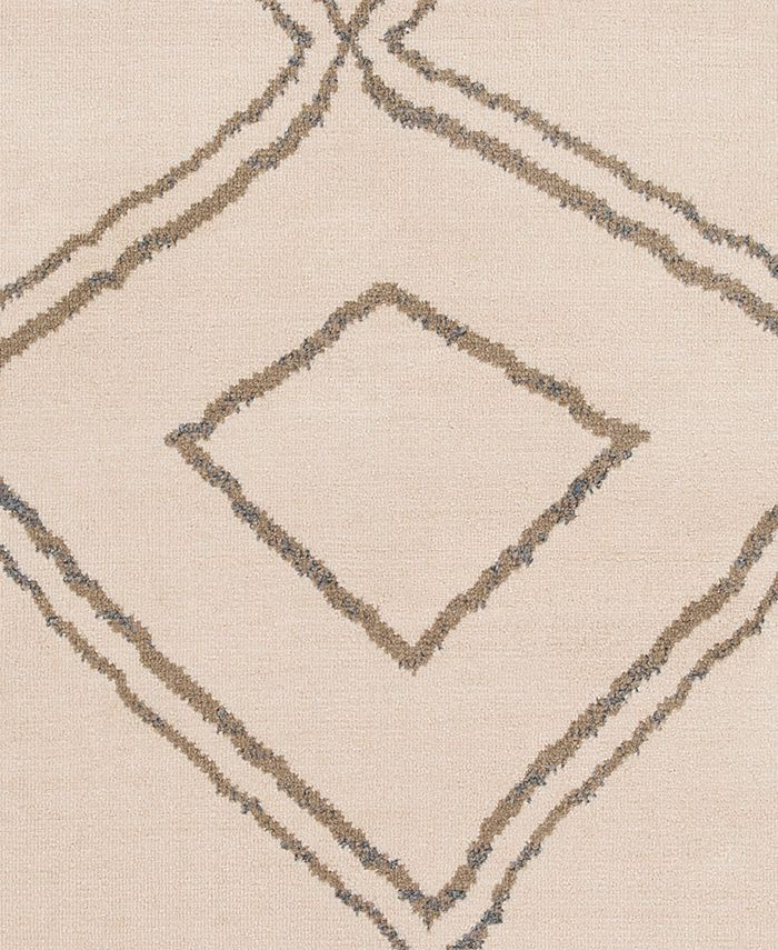 """Abbie & Allie Rugs - Oslo OSL-2308 Camel 18"""" Square Swatch"""