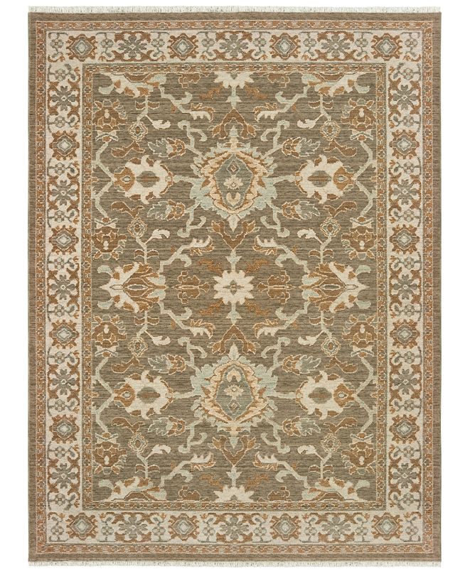 "Oriental Weavers Anatolia 1331H Brown/Ivory 9'10"" x 12'10"" Area Rug"