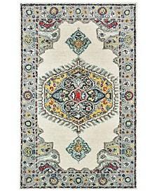Oriental Weavers Zahra 75505 Ivory/Grey 5' x 8' Area Rug