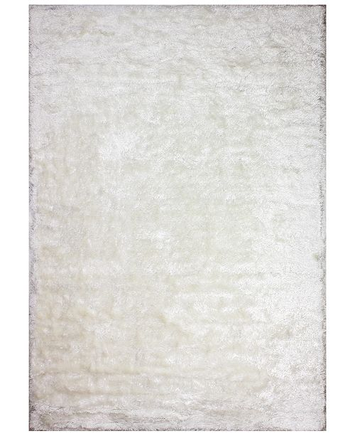 """Hotel Collection Hotel Glam Shag GS1 5'6"""" x 8'6"""" Area Rug"""