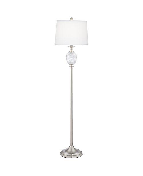 Pacific Coast Pineapple Metal and Glass Floor Lamp