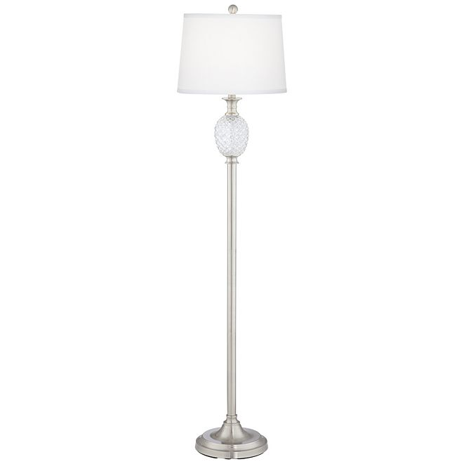 Pacific Coast Pineapple Metal and Glass Floor Lamp