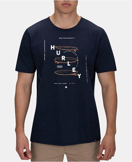 Homme Commentaires Graphiques Premium T Navy shirts et Armory Hurley qGjLUMVpzS