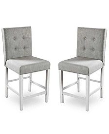 Ronon Transitional Pub Chair (Set of 2)