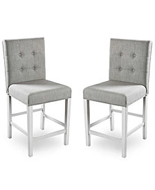 Ronon Transitional Pub Chair (Set of 2)