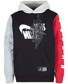 Jordan Little Boys Wings Futura Pullover Hoodie