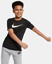 newest 17c14 04937 Nike Big Boys Swoosh-Print T-Shirt