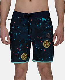 "Men's Phantom Scribble 18"" Board Shorts"