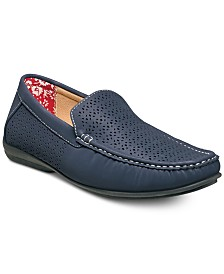 Stacy Adams Cicero Perfed Moc-Toe Slip-On Shoes