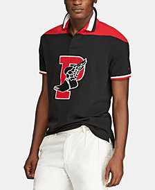 Polo Ralph Lauren Men's Big & Tall Classic Fit P-Wing Mesh Cotton Polo