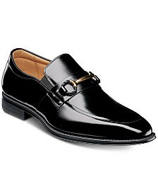 Stacy Adams Pierce Bit-Trimmed Slip-On Shoes