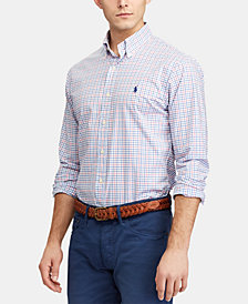 Polo Ralph Lauren Men's Slim Fit Gingham Shirt