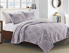 Terragon 3 Piece Quilt Set Full/Queen