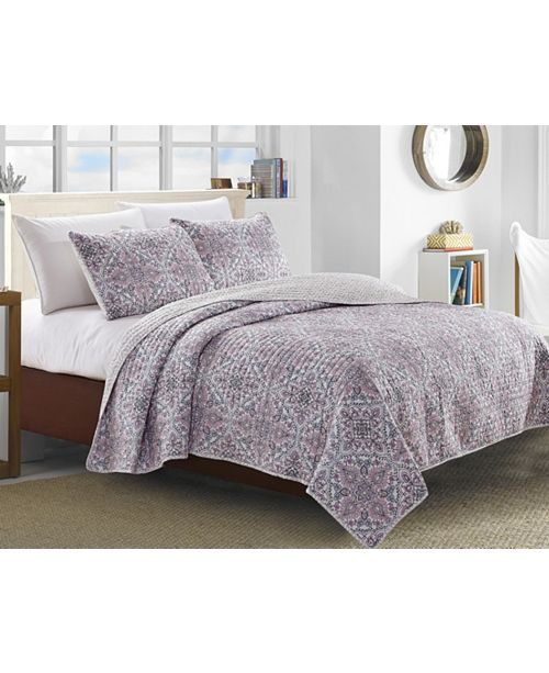 Welcome Industrial Terragon 3 Piece Quilt Set Collection