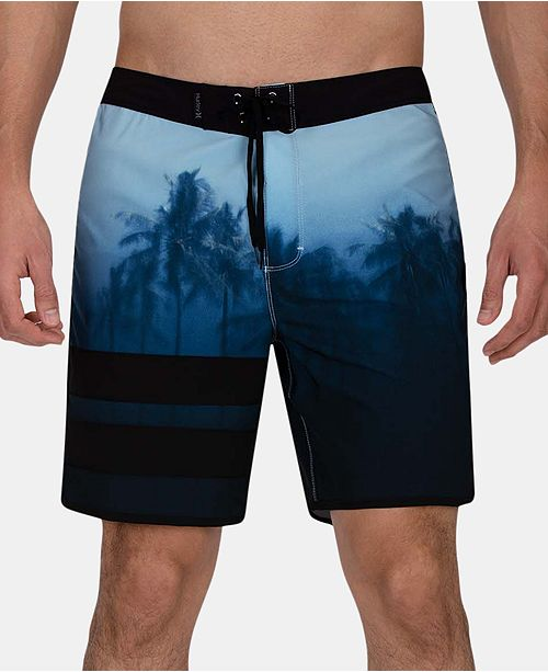 "Hurley Men's Phantom Block Party 18"" Board Shorts"