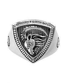EFFY® Men's Zodiac Ring in Sterling Silver