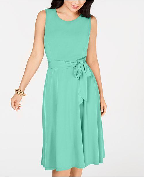 6d7d4ab943 Charter Club Tie-Waist Midi Dress