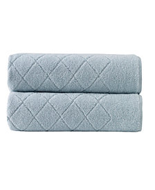 Enchante Home Gracious 2-Pc. Bath Sheets Turkish Cotton Towel Set