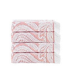 Laina 4-Pc.Turkish Cotton Bath Towel Set