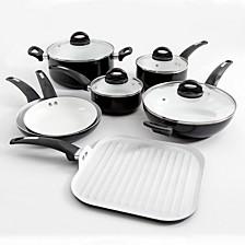 Herstal 11-piece Aluminum Cookware Set