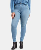 30eb04767b075 Levi's® Plus Size Pull-On Jeggings