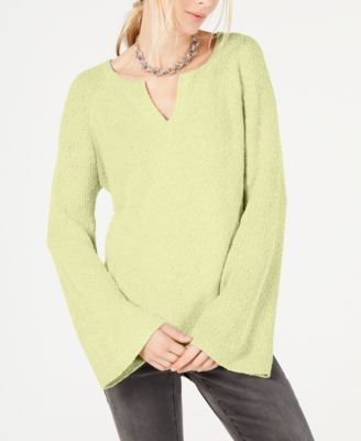 I.N.C. Textured Bell-Sleeve Sweater Created for Macys