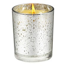 Aromatique Agave Pineapple Metallic Candle