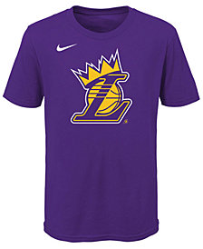 Nike Lebron James Los Angeles Lakers Kings Crown T-Shirt, Big Boys (8-20)
