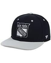 b78d08a9c Authentic NHL Headwear New York Rangers Blackout Emblem Snapback Cap