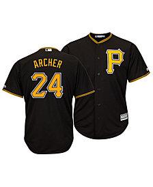 Majestic Men's Chris Archer Pittsburgh Pirates Player Replica Cool Base Jersey