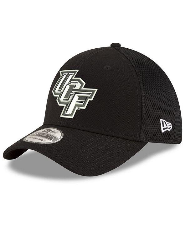 New Era University of Central Florida Knights Black White Neo 39THIRTY Cap