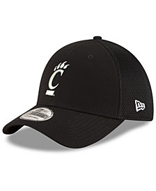 New Era Cincinnati Bearcats Black White Neo 39THIRTY Cap