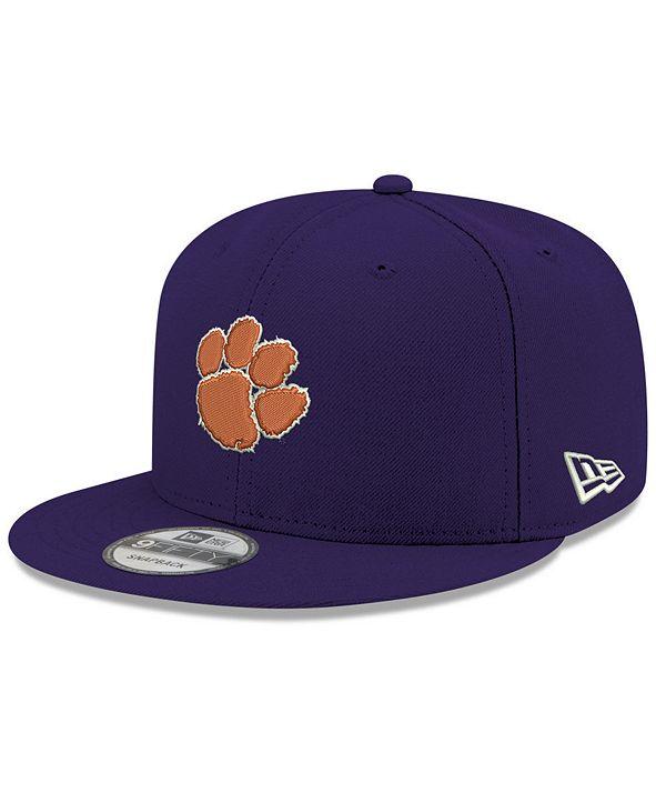 New Era Boys' Clemson Tigers Core 9FIFTY Snapback Cap