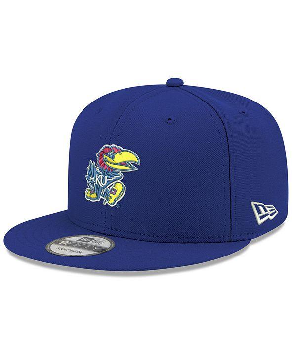 New Era Boys' Kansas Jayhawks Core 9FIFTY Snapback Cap
