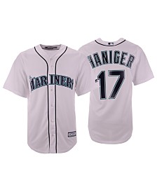 Majestic Men's Mitch Haniger Seattle Mariners Player Replica Cool Base Jersey