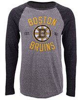 Majestic Men s Boston Bruins Heritage Long Sleeve Raglan T-Shirt 8d1e3a667