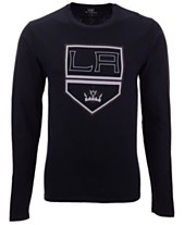 Authentic NHL Apparel Men s Los Angeles Kings Blackout Long Sleeve T-Shirt 5579eea32