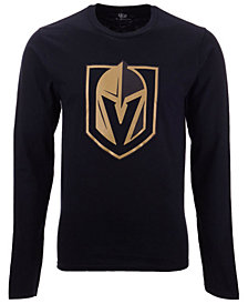 Authentic NHL Apparel Men's Vegas Golden Knights Blackout Long Sleeve T-Shirt