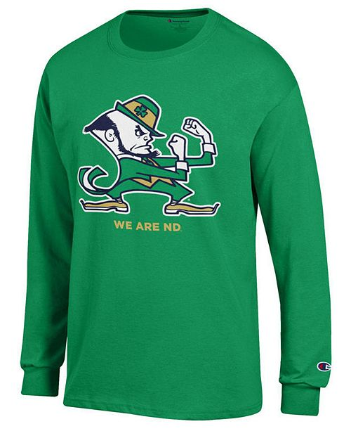 Champion Men's Notre Dame Fighting Irish Co-Branded Long Sleeve T-Shirt