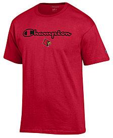 Champion Men's Louisville Cardinals Co-Branded T-Shirt