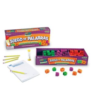 Learning Resources Juego De Palabras A Spanish Reading Rods Word Game