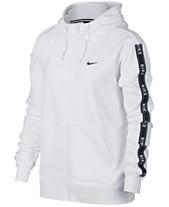 7e2edada Nike Sportswear Cotton Logo Zip Hoodie