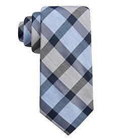 Ryan Seacrest Distinction™ Men's Besalu Plaid Slim Tie, Created for Macy's