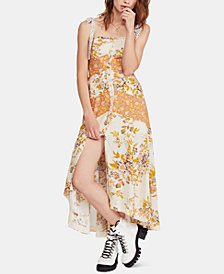 Free People Printed Sleeveless Maxi Dress
