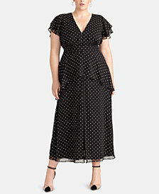 RACHEL Rachel Roy Trendy Plus Size Val Maxi Dress