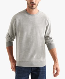 Lucky Brand Men's Striped Terry Sweatshirt