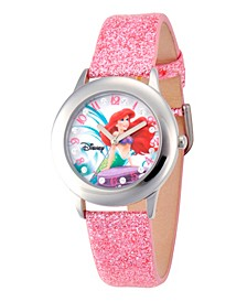 Disney Ariel Girls' Stainless Steel Glitz Watch