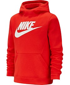 Nike Big Boys Sportswear Fleece Pullover Hoodie